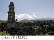 Купить «church ruin mexico volcano lava», фото № 8812826, снято 20 октября 2018 г. (c) PantherMedia / Фотобанк Лори