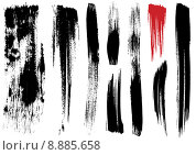 Купить «brush stroke textures», иллюстрация № 8885658 (c) PantherMedia / Фотобанк Лори