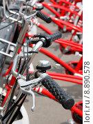 Купить «handle bell bike bicycle cycle», фото № 8890578, снято 21 января 2019 г. (c) PantherMedia / Фотобанк Лори