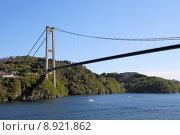 Купить «bridge cable norway pylon current», фото № 8921862, снято 9 июля 2020 г. (c) PantherMedia / Фотобанк Лори