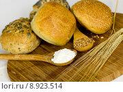 Купить «grain wheat roll cereal ear», фото № 8923514, снято 19 октября 2018 г. (c) PantherMedia / Фотобанк Лори