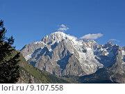 Купить «gipfel montblanc courmayeur italien gletscher», фото № 9107558, снято 21 июля 2019 г. (c) PantherMedia / Фотобанк Лори