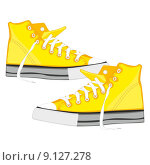 Купить «illustration of isolated shoes», фото № 9127278, снято 20 марта 2019 г. (c) PantherMedia / Фотобанк Лори