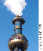 Купить «vienna incinerator hundertwasser mva spittelau», фото № 9141470, снято 26 апреля 2019 г. (c) PantherMedia / Фотобанк Лори