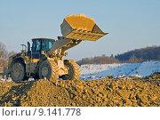 Купить «construction site dredger baggerschaufel civil», фото № 9141778, снято 19 марта 2019 г. (c) PantherMedia / Фотобанк Лори