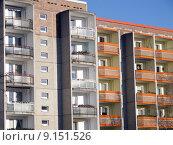Купить «plattenbau neubrandenburg modern architecture building», фото № 9151526, снято 19 августа 2018 г. (c) PantherMedia / Фотобанк Лори