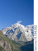 Купить «peak summit climax gipfel montblanc», фото № 9154502, снято 21 июля 2019 г. (c) PantherMedia / Фотобанк Лори