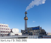 Купить «architecture vienna incinerator architectural style», фото № 9160986, снято 26 апреля 2019 г. (c) PantherMedia / Фотобанк Лори