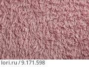 Купить «pink towel fabric background», фото № 9171598, снято 15 сентября 2019 г. (c) PantherMedia / Фотобанк Лори