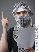 Купить «terrorist demands», фото № 9216454, снято 27 июня 2019 г. (c) PantherMedia / Фотобанк Лори
