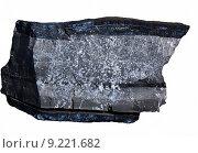 Образец фосфатной руды изолированно на белом фоне. Стоковое фото, фотограф Александр Алексеевич Миронов / Фотобанк Лори