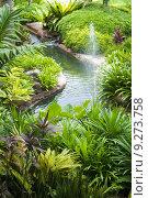 Tropical Garden. Стоковое фото, фотограф Wong Sze Fei / PantherMedia / Фотобанк Лори