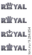 Купить «Anthracite Word Royal - Crowns», фото № 9284854, снято 18 января 2019 г. (c) PantherMedia / Фотобанк Лори