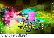 Купить «Wheel chair », фото № 9338994, снято 20 октября 2018 г. (c) PantherMedia / Фотобанк Лори
