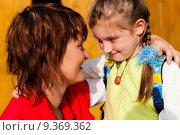 Купить «woman girl child family mother», фото № 9369362, снято 20 августа 2019 г. (c) PantherMedia / Фотобанк Лори
