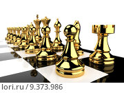 Купить «Golden Chess pieces », фото № 9373986, снято 3 августа 2020 г. (c) PantherMedia / Фотобанк Лори