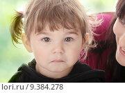 Купить «Portrait of a 2 year old girl », фото № 9384278, снято 26 марта 2019 г. (c) PantherMedia / Фотобанк Лори