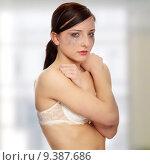 Купить «Abused woman crying», фото № 9387686, снято 16 июня 2019 г. (c) PantherMedia / Фотобанк Лори