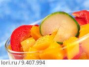 Купить «Mango, Bell Pepper and Cucumber», фото № 9407994, снято 16 июня 2019 г. (c) PantherMedia / Фотобанк Лори