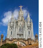 Купить «Spain Barcelona Temple de Sagrat Cor Tibidabo», фото № 9410494, снято 20 сентября 2018 г. (c) PantherMedia / Фотобанк Лори