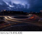 Купить «Traffic roundabout», фото № 9416430, снято 18 июля 2019 г. (c) PantherMedia / Фотобанк Лори