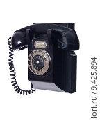 Купить «Vintage telephone», фото № 9425894, снято 16 июля 2019 г. (c) PantherMedia / Фотобанк Лори
