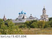 Купить «Высоцкий мужской монастырь. Серпухов», фото № 9431694, снято 13 августа 2015 г. (c) Владимир Тучин / Фотобанк Лори