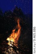Купить «fire flame burn conflagration wood», фото № 9465886, снято 26 марта 2019 г. (c) PantherMedia / Фотобанк Лори
