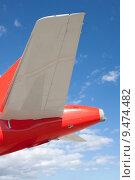 Купить «blue sky back rear airplane», фото № 9474482, снято 19 марта 2019 г. (c) PantherMedia / Фотобанк Лори