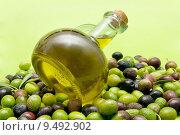 Купить «olive oil», фото № 9492902, снято 19 марта 2019 г. (c) PantherMedia / Фотобанк Лори