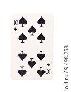 Купить «Ten of spades», фото № 9498258, снято 25 февраля 2020 г. (c) PantherMedia / Фотобанк Лори