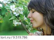 Купить «woman youth blossom bloom teens», фото № 9519786, снято 19 января 2019 г. (c) PantherMedia / Фотобанк Лори