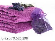 Купить «plant flower wellness spa towel», фото № 9526298, снято 15 сентября 2019 г. (c) PantherMedia / Фотобанк Лори