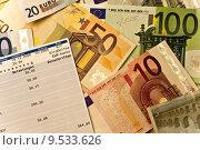 Купить «money currency euro bank note», фото № 9533626, снято 22 июля 2019 г. (c) PantherMedia / Фотобанк Лори