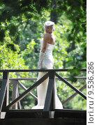 Купить «beautiful bride outdoor», фото № 9536286, снято 16 июня 2019 г. (c) PantherMedia / Фотобанк Лори