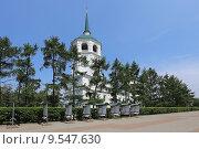 Купить «Спасский храм, Иркутск», эксклюзивное фото № 9547630, снято 5 июля 2015 г. (c) Алексей Гусев / Фотобанк Лори