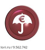 Купить «button euro crisis umbrella rescue», фото № 9562742, снято 23 апреля 2019 г. (c) PantherMedia / Фотобанк Лори