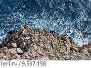 Купить «Wild sea and rocks», фото № 9597158, снято 23 марта 2019 г. (c) PantherMedia / Фотобанк Лори