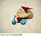 Купить «Motorized Santa Claus», фото № 9628086, снято 22 мая 2018 г. (c) PantherMedia / Фотобанк Лори