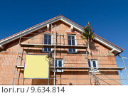 Купить «build loan housebuilding house neubaugebiet», фото № 9634814, снято 18 января 2019 г. (c) PantherMedia / Фотобанк Лори