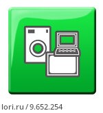 Купить «computer icon household computers goods», фото № 9652254, снято 20 сентября 2018 г. (c) PantherMedia / Фотобанк Лори