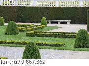 Купить «Gardens of Schoenbrunn castle in vienna», фото № 9667362, снято 25 мая 2019 г. (c) PantherMedia / Фотобанк Лори