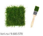 Купить «Artificial Grass», фото № 9683570, снято 16 сентября 2019 г. (c) PantherMedia / Фотобанк Лори