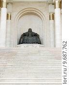 Купить « statue of Genghis Khan», фото № 9687762, снято 26 марта 2019 г. (c) PantherMedia / Фотобанк Лори