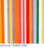Купить «A lovely detailed background image of stripy colorful cloth», фото № 9697010, снято 13 декабря 2018 г. (c) PantherMedia / Фотобанк Лори