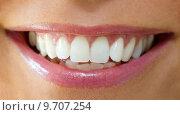 Купить «woman caucasian european blank mouth», фото № 9707254, снято 25 марта 2019 г. (c) PantherMedia / Фотобанк Лори