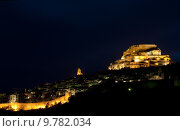 Купить «Morella at night, Comunidad Valenciana, Spain», фото № 9782034, снято 22 октября 2018 г. (c) PantherMedia / Фотобанк Лори