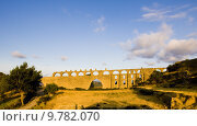 Купить «gothic aqueduct, Morella, Comunidad Valenciana, Spain», фото № 9782070, снято 24 января 2019 г. (c) PantherMedia / Фотобанк Лори