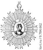 Купить «Medal of Distinction with the bust of the Liberator (Venezuela, 1854)», фото № 9784662, снято 20 марта 2019 г. (c) PantherMedia / Фотобанк Лори