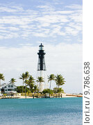 Купить «Hillsboro Lighthouse, Pompano Beach, Florida, USA», фото № 9786638, снято 20 марта 2019 г. (c) PantherMedia / Фотобанк Лори